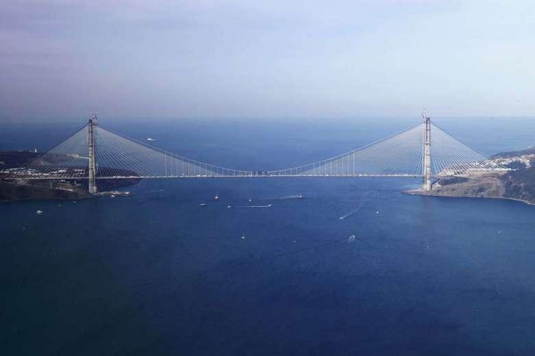 Новый мост через Босфор
